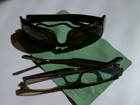 Óculos verdes